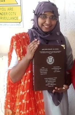 Gujarat University Sanskrit Department First Muslim Student