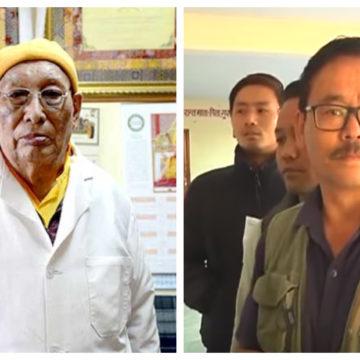 Dr Yeshi Dhonden and Dr Choephel Kalsang