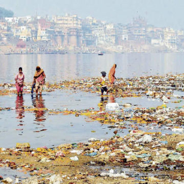 Patna False Information on Eight Projects of Namami Gange Program