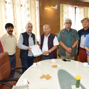 White paper on traffic congestion in Shillong submitted