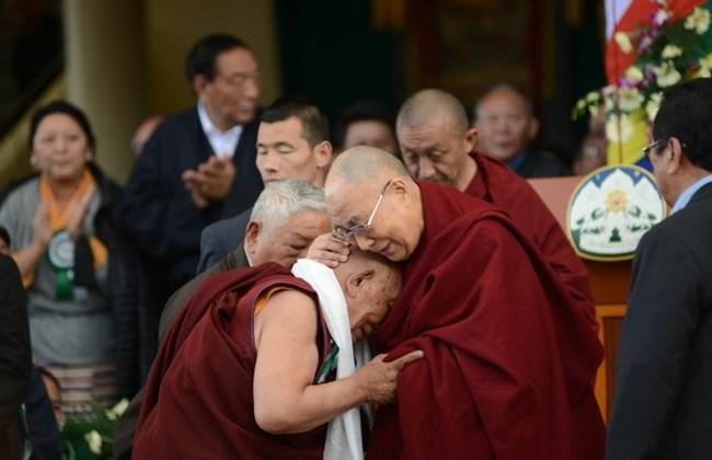 Dalai Lama and Dr Yeshi Dhonden