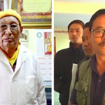 Dr. Yeshi Dhonden and Dr. Choephel Kalsang
