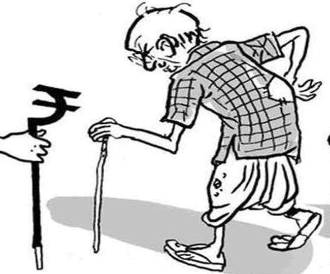 Old Age Pension Scam | Image Creadit: Jagran.com