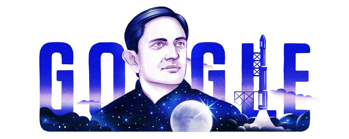 Google Doodle celebrated Vikram Sarabhai's 100th birth anniversary