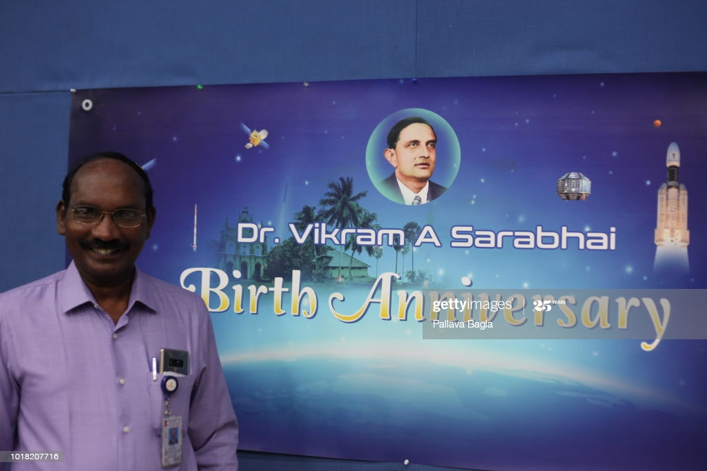 K Sivan on Birth Anniversary of Dr. Vikram Sarabhai