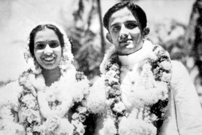 Vikram Sarabhai and mrinalini Sarabhai
